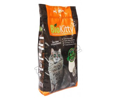 BioKitty Natural Kedi Kumu 5lt İnce Taneli Bentonit Bio Kitty
